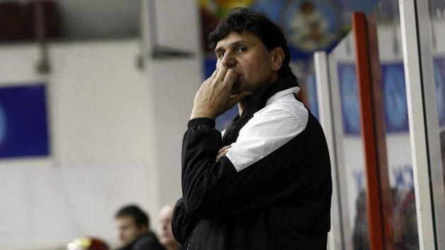 Trenér Slavie Vladimír Růžička se musel v neděli smířit s porážkou.