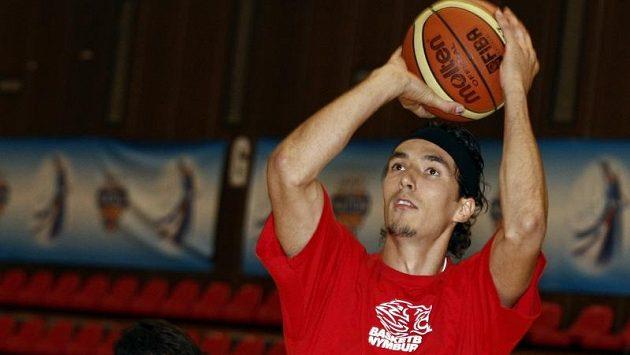 Basketbalista Jiří Welsch na archivním snímku.