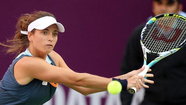 Česká tenistka Petra Cetkovská (na snímku) spolu s Melzerovou v Acapulku na titul nedosáhla.