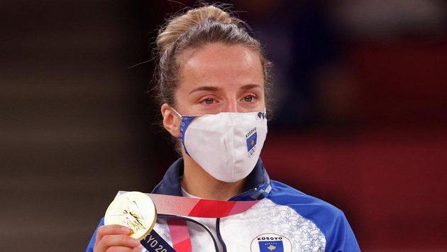 Úvodní judistickou soutěž ovládla Distria Krasniqiová z Kosova.
