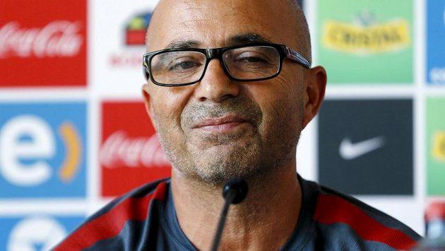 Trenér Jorge Sampaoli už fotbalisty Chile nepovede.
