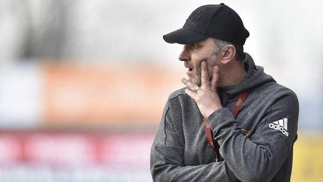 Trenér Dukly Roman Skuhravý mohl být s výkonem svého týmu spokojen
