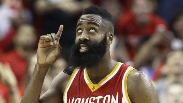 Basketbalista Houstonu James Harden