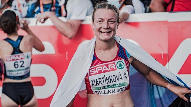 Chodkyně Eliška Martínková na ME v Tallinnu.