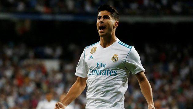 Sergio Asensio vstřelil oba góly Realu. Takto se radoval po té první.
