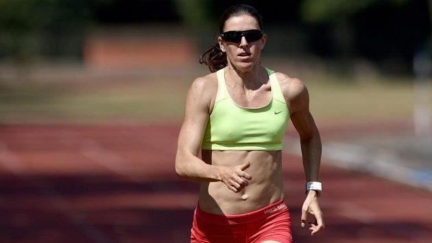 Zuzana Hejnová během přípravy v Nymburce na loňské mistrovství světa.