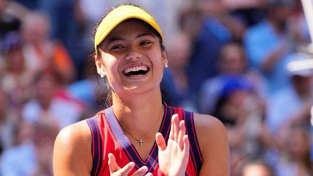 Sen pokračuje! Emma Raducanuová prošla na US Open z kvalifikace do semifinále.