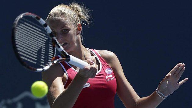 Karolína Plíšková vypadla na turnaji v Torontu hned v prvním kole.