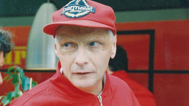 Niki Lauda na archivním snímku.