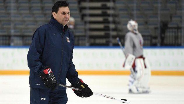 Trenér české hokejové reprezentace Vladimír Růžička. Bude jím i nadále?
