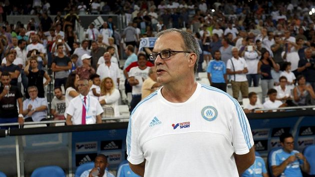 Nyní už bývalý trenér fotbalistů Marseille Marcelo Bielsa.