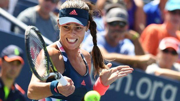 Srbská tenistka Ana Ivanovičová na letošním US Open.