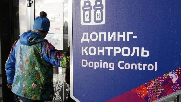 Prostory dopingové kontroly při ZOH 2014 v Soči u stadiónu Laura pro běh na lyžích a biatlon.