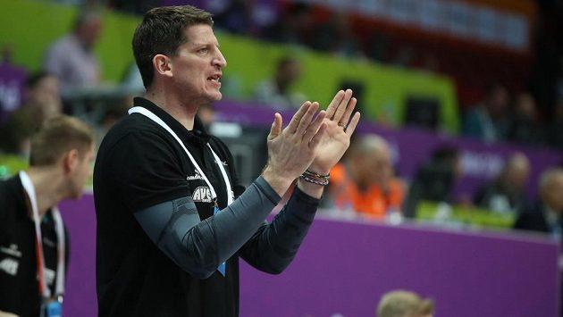 Trenér házenkářů Daniel Kubeš.