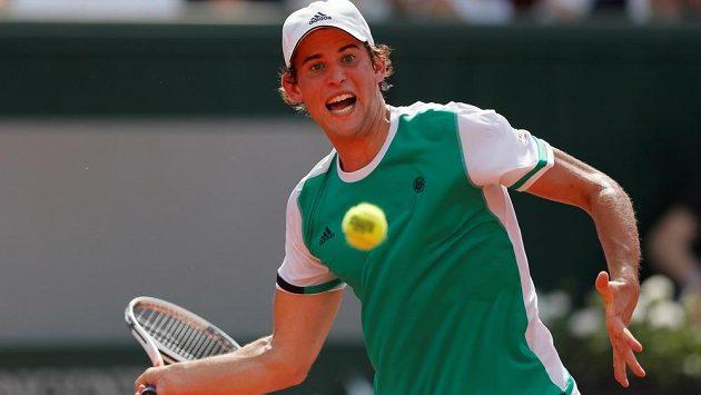 Rakouský mladík Dominic Thiem na letošním French Open.