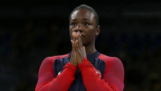 Zlatá americká boxerka Claressa Shieldsová.