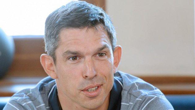 Kanoista Stanislav Ježek před odletem na mistrovtství světa ve vodním slalomu do Londýna.