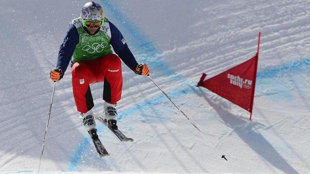 Skikrosař Tomáš Kraus na olympiádě v Soči.