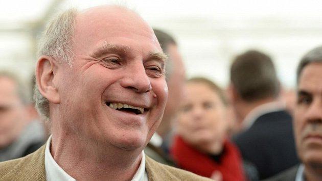 Uli Hoeness, bývalý prezident mnichovského Bayernu.