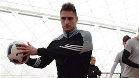 Jevgenij Kabajev absolvoval první trénink s Bohemians.