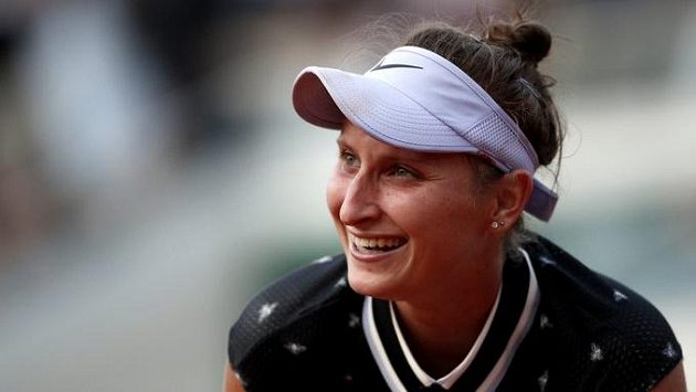 Markéta Vondroušová se vrátila po zranění vítězně.