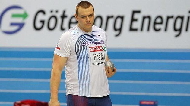 Český koulař Ladislav Prášil.