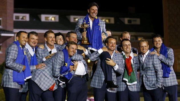 Evropští golfisté zase slaví.