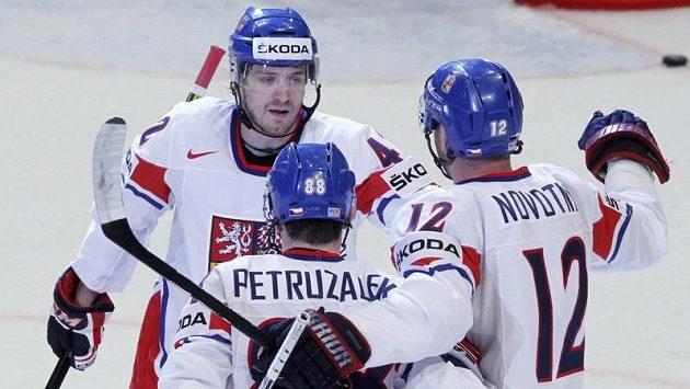 Čeští hokejisté budou proti Německu hrát už jen o umístění, čtvrtfinále mají jisté