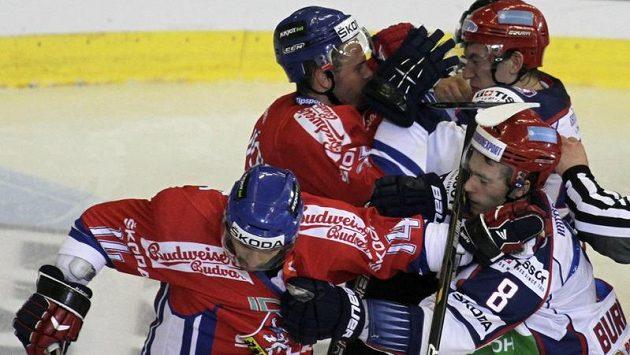 Souboje s Ruskem v poslední době české hokejisty bolely
