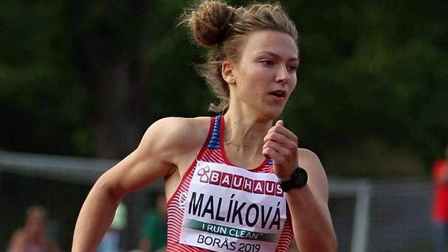 Barbora Malíková získala na juniorském mistrovství Evropy atletů ve Švédsku bronzovou medaili v běhu na 400 metrů.