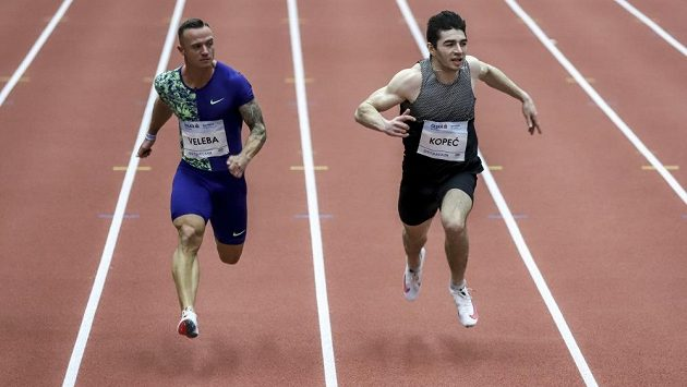 Sprintera Jana Velebu překvapuje, na jaké časy letos má. Chtěl by nový osobák