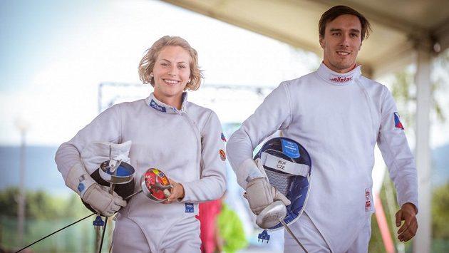 Eliška Přibylová a Jan Kuf, vítězové Světového poháru v Sofii.