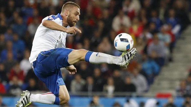 Daniele De Rossi v utkání proti Belgii.