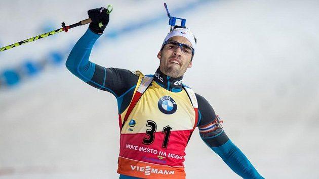 Francouz Martin Fourcade vyhrál další závod SP.