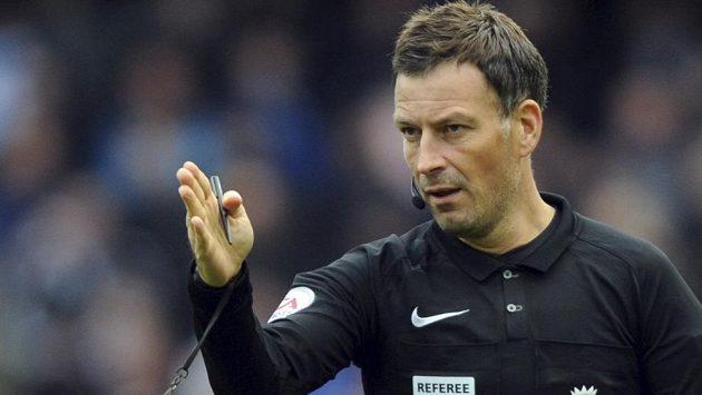 Fotbalový rozhodčí Mark Clattenburg.