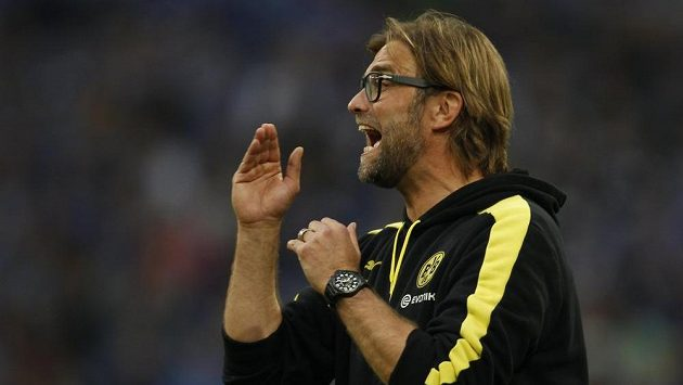 Trenér Borussie Dortmund Jürgen Klopp