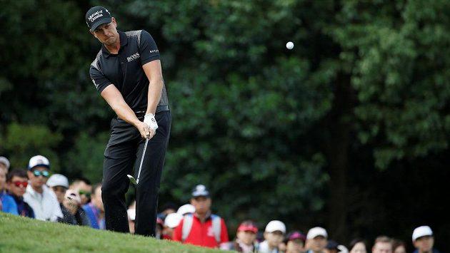 Švédský golfista Henrik Stenson na vítězství v Šanghaji nedosáhl.