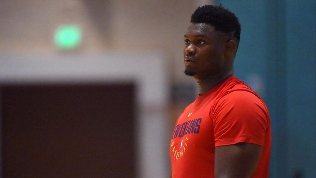 Basketbalová hvězda Zion Williamson se brzy připojí k týmu