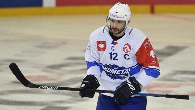 Kapitán Komety Leoš Čermák v duelu s Frölundou nehrál.