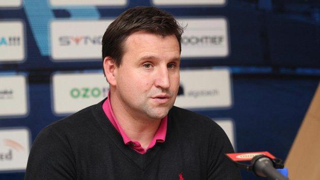 Trenér fotbalistů Baníku Ostrava Petr Frňka.