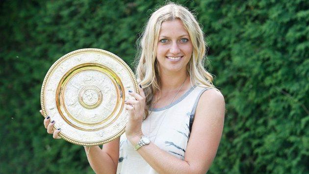Petra Kvitová ovládla slavný Wimbledon v letech 2011 a 2014