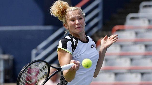 Česká tenistka Kateřina Siniaková vstoupila do turnaje National Bank Open v Montrealu pohodovým vítězstvím.