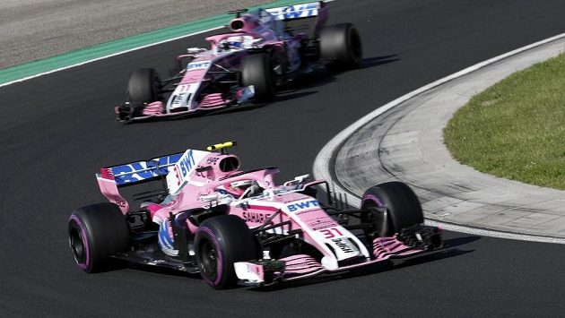 Vozy Force India.