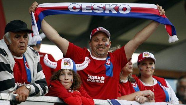 Fanoušci českého národního týmu
