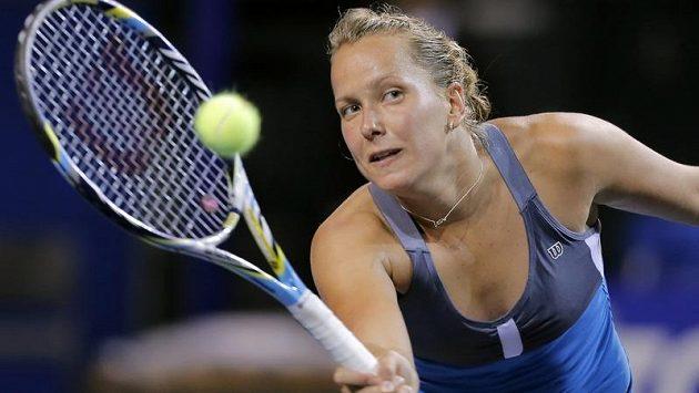 Tenistka Barbora Záhlavova-Strycová se v Tokiu marně snažila proniknout do 2. kola.