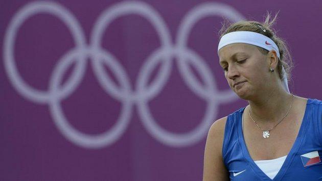 Zklamaná Petra Kvitová na olympiádě končí.