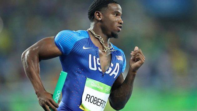 Gil Roberts na olympijských hrách v Riu.