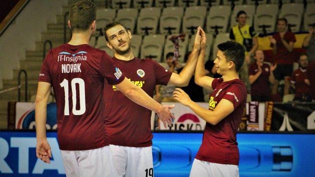 Futsalisty Sparty čeká svátek, ligové derby se Slavií.