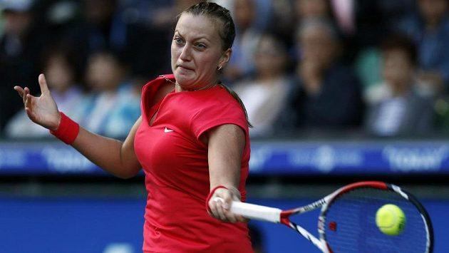 Tenistka Petra Kvitová v utkání proti Venus Williamsové.