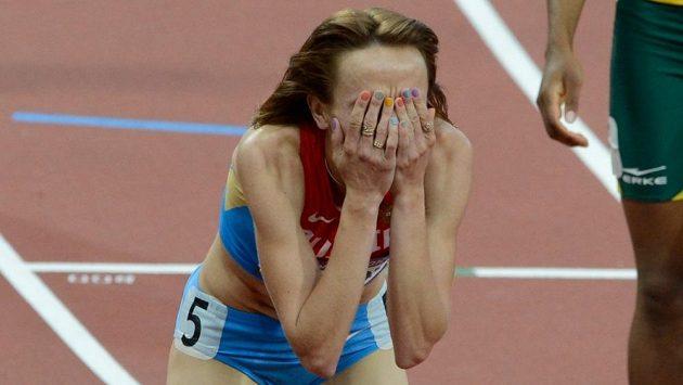 Zlatá půlkařka z OH v Londýně Maria Savinovová z Ruska dostala doživotní trest.